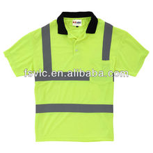 Fire Retardant Hi Vis Polo Shirt