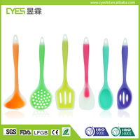 High Quality Non stick Cooking Tools Soft Silicone Kitchen Utensils