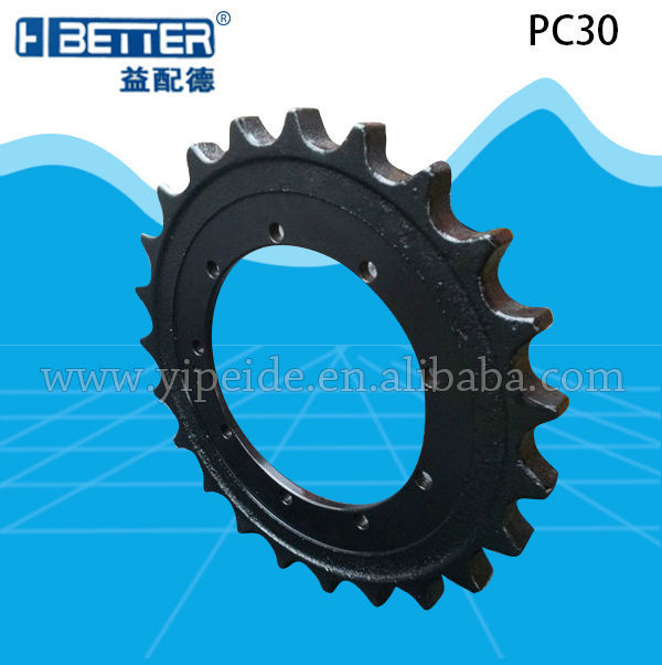 OEM high quality sprocket mini crawler tractor spare parts