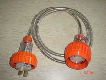 Extension plug and socket DTE001