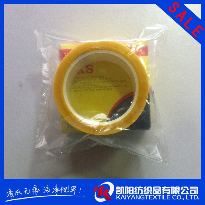 Good selling sticker transparent edging pad for lens