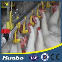 Best Selling Products Huabo Poultry Nipple Drinking System Farm Tools And Equipment
