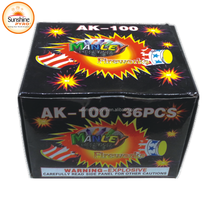 Top Quality AK100 Super Thunder King Loud Silver Cracker Fireworks