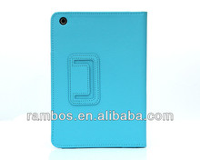 High Quality Stand Flip Cover Folding Wallet Case for iPad Mini