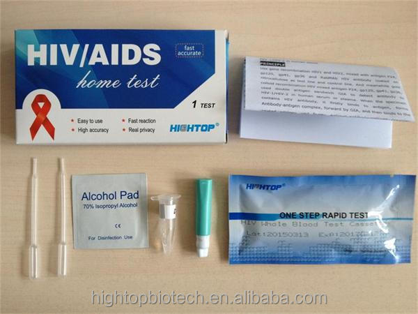 Rapid HIV Testing Equipment Rapid HIV Test Kits serum/plasma/whole blood