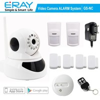 P2P WIFI View Indoor wireless IP camera support APP+Fire Alarm+Motion Detector