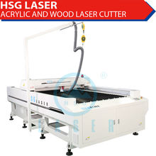 1325 low cost co2 laser cutting flat bed for nonmetal materials HS-B1325