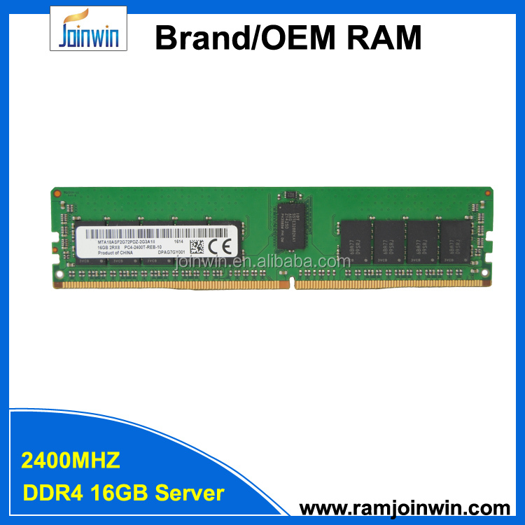 China wholesale DDR4 1X16GB 2Rx8 PC4-2400T 1.2V server ram memory