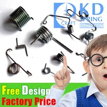 Custom Metal Spiral Adjustable Stainless Steel double torsion spring