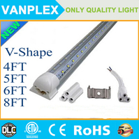 Aluminum profile curved led cooler light tube 100-347V/AC