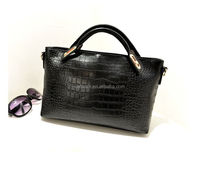 CATWALK01053 black European fashion popular style cheap pu leather lady handbag latest fashion ladies handbags 2014