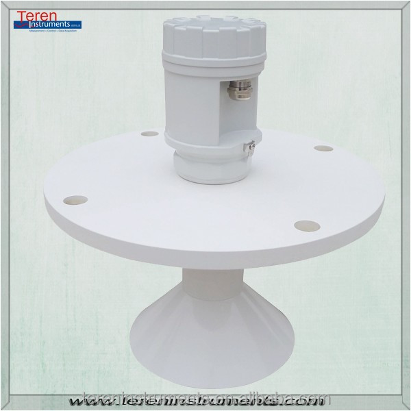 2014 new products used level suveying equipment flanged ultrasonic water tank level sensor