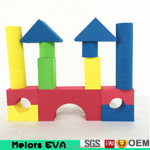 Melors building toys for boys eva foam custom indoor block toy for children