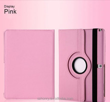 360 Degree Rotating Stand Leather Protective Cover Case for iPad