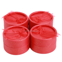 red round paper tube Jewelry paper packaging box