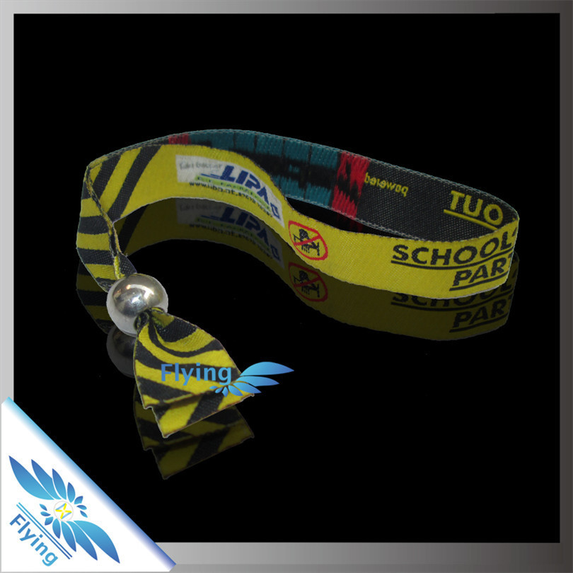 3d lenticular picture printing woven wristband