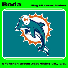 90x150cm polyester nfl miami dolphins flag