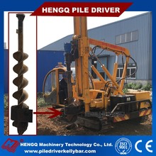 auger drill piling machine solar pv power project equipment