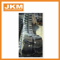 excavator rubber track 450x90x48 rubber tracks for construction machinery vehicles