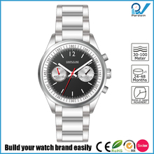 Stainless steel Bonus Bracelet slightly domed glass with inner anti-reflective coating chronograph Regal Watches