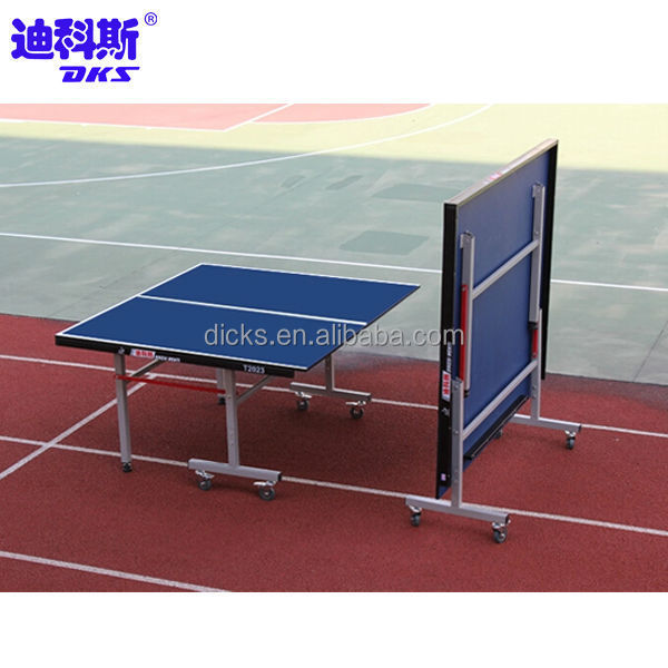 Professional Cheap Ping Pong Table With Removable Wheels