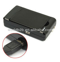 Hot Selling 2 in1 USB/AC Battery Charger For Samsung Galaxy S4 Mini i9190