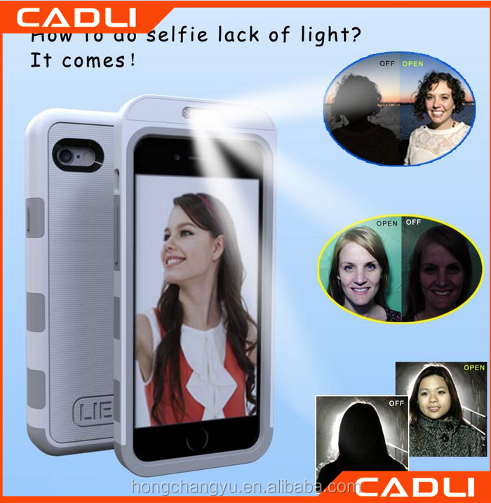 china suppliers cool light up phone case for samsung galaxy s5 with selfie