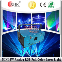 Mini Analogue laser series,club lighting system 3w/4w/5w rgb laser light show projectors for sale
