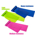 Professional Latex Elastic Resistance Bands for Upper Lower Bodybuilding Core Exercise Physical Therapy Training