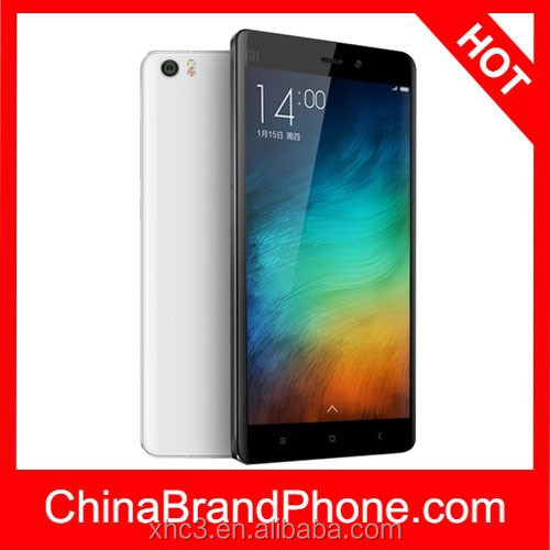 Dropshipping One Year Warranty Xiaomi Mi Note 5.7 inch MIUI 6 Smart Mobile Phone Quad Core 2.5GHz