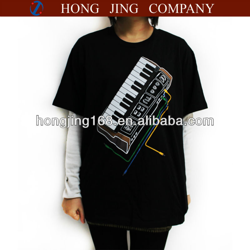 playable Electronic -Piano(organs) T-shirt