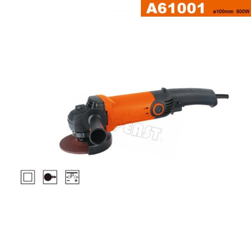 800W Small Angle Grinder, Lock-On 12,000 rpm