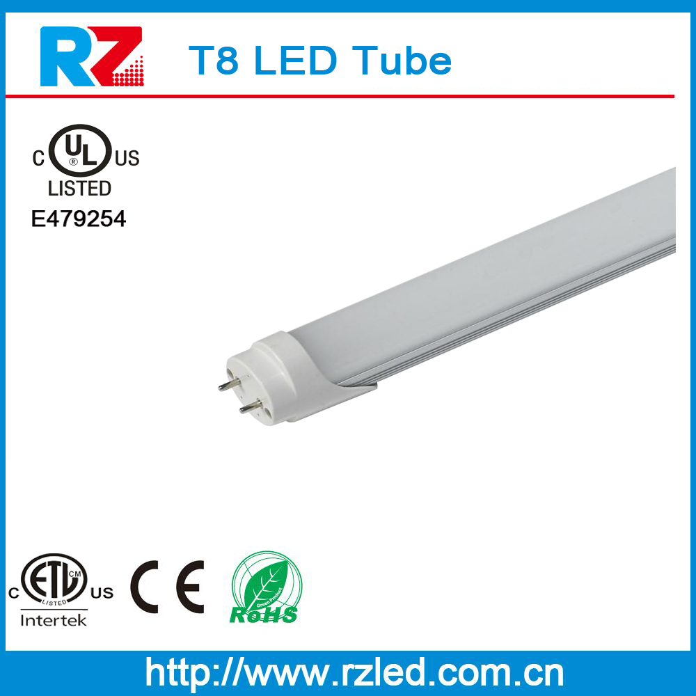 Popular selling Aluminum housing + PC Cover china t8 led red tube, high CRI LED Light Tube t8, 4ft smd plug and play t8 Tube LED
