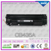 for hp original toner cartridge 2016 chinese CB435A toner compatible 435 toner reset chip for hp CB435