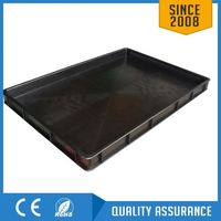 antistatic ESD tray for electronic components storage