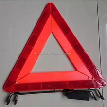 CE road safety kit car accessories parking tools kit led triangle China factory