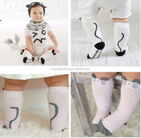 2015 Stylish Cute Cartoon Brand Leg Warmers Baby Boys Girls Legging Socks Protectors For Children Knee Pads Baby Socks 0-2Y