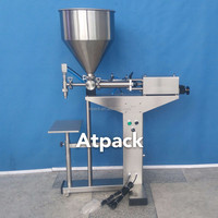 Atpack high-accuracy semi-automatic V7 Toning Light Whitening Face Cream Nake Makeup Concealer Cream filling machine with CE GMP