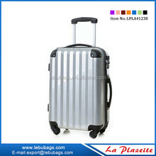ABS rolling luggage trolley boy travel luggage kid's luggage with removable wheels, cartoon