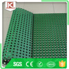 Rubber anti slip black grass and snow floor