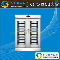 Professional stainless steel manual control panel 10 pans commercial pita bread making fermentation equipment