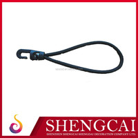 Hot sale anti-static spiral elastic cord 3mm with plastic hook