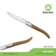 high-quality steak knife with wood handle