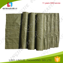 cheap pricewhite green 50kg 55*105 55*95 pp woven garbage bag exported to lithuania