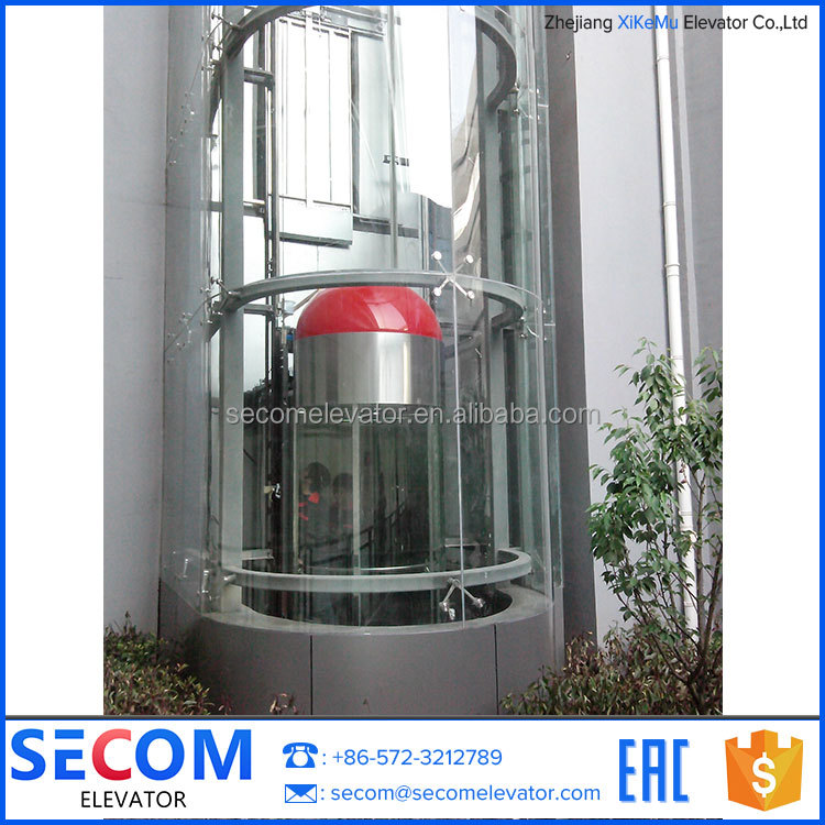Sightseeing Elevator Passenger Observation Sightseeing Lift with high quality