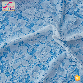 HG0335 wholesale wedding dress french lace fabric cheap price