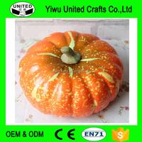 20cm Artificial Vegetable Autumn Pumpkin Halloween Decorative Fake Food Pumpkins