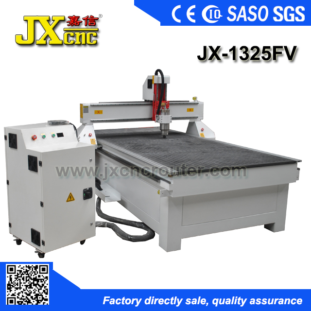 JIAXIN JX-1325FV Make money easy vacuum table 1325 wood carving cnc router machine with factory price