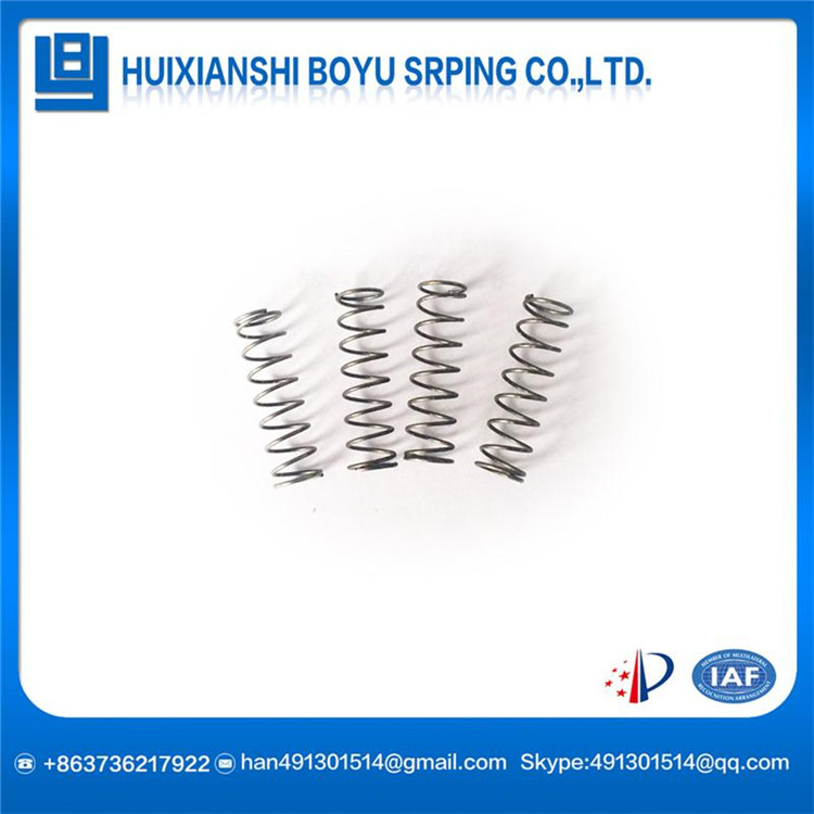 Custom high carbon steel electroplating Compression spring with great price