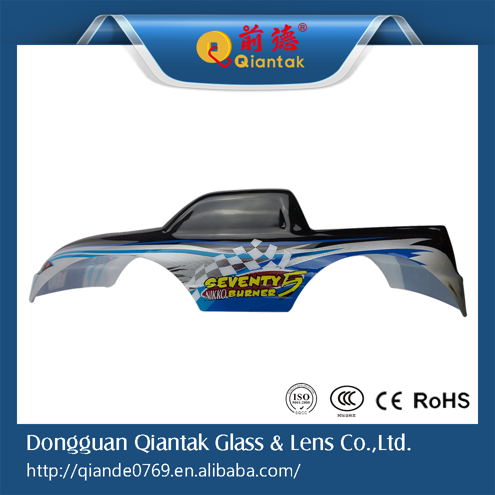 Popular RC Car Body Shell, 1:10 PVC Blister Printing Shell For Sale